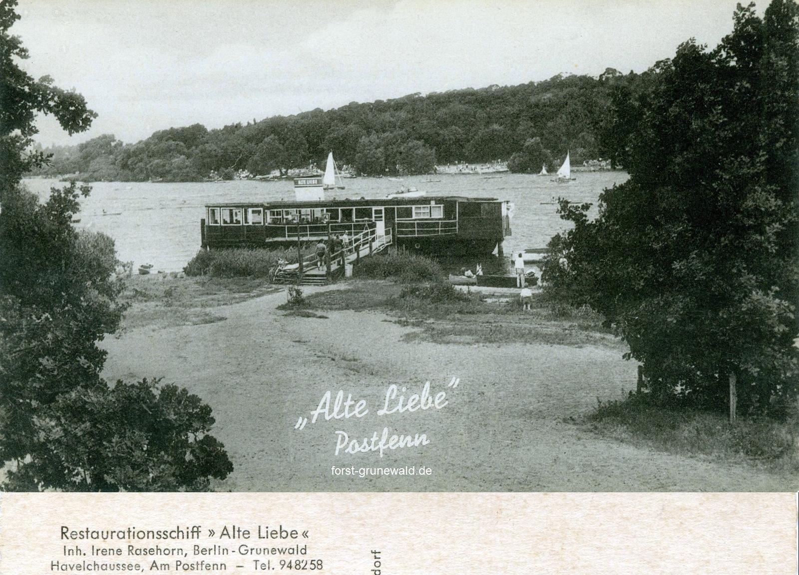 schiffsrestaurant alte liebe
