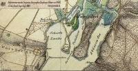 1835-spandauer-heide-ingenieur-geographen-emphinger-glaeser-und-wolff-jaczoschlucht