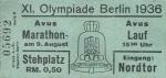 1936-08-09-marathonlauf-eintrittskarte