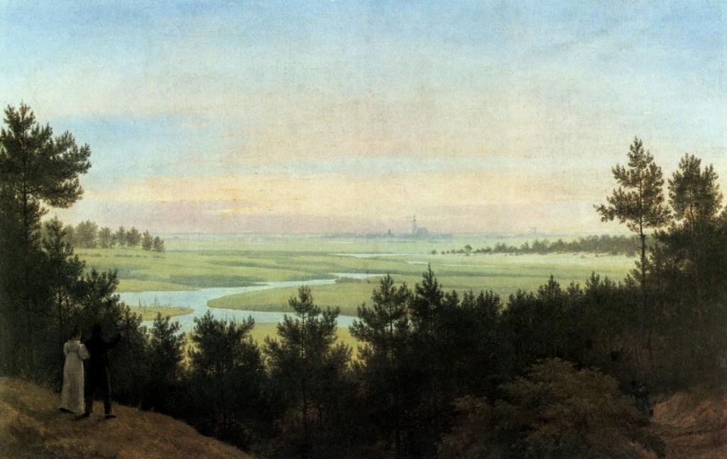 1814 Schinkel, Karl-Friedrich Landschaft bei Pichelswerder klein