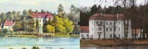 1830 - 2012 Jagdschloss Grunewald - Terrasse am See