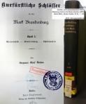 1890 Siegmar Graf Dohna - Kurfuerstliche Schloesser Band 1 DSC04012 klein