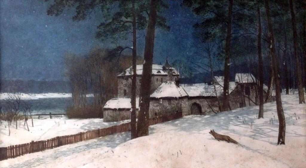 1900-ca-HEINRICH-KOHNERT-1850-1905-Winternacht-2