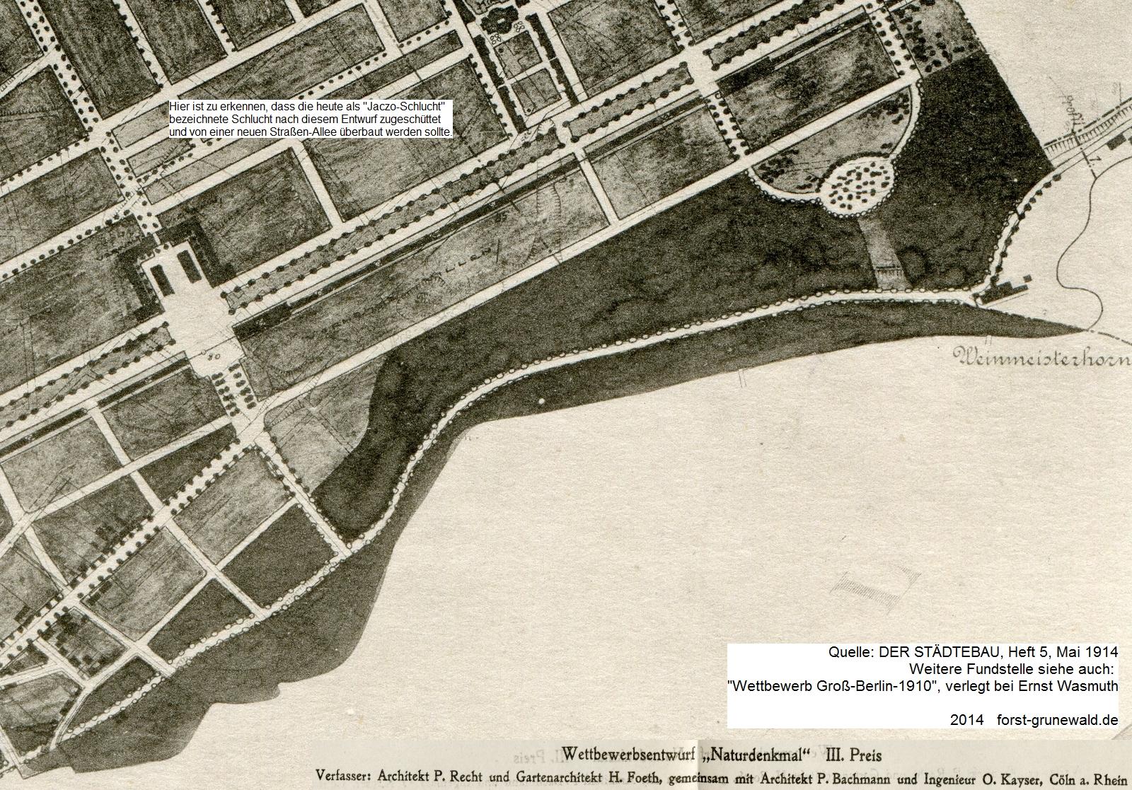 1909 - 3. Preis - Naturdenkmal - 2 klein