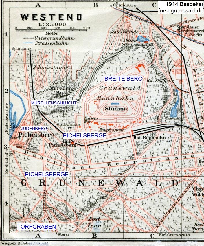 1914 Baedeker Pichlsberg-Breite Berg klein