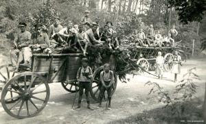 1920 Grunewald Holzabfuhr klein