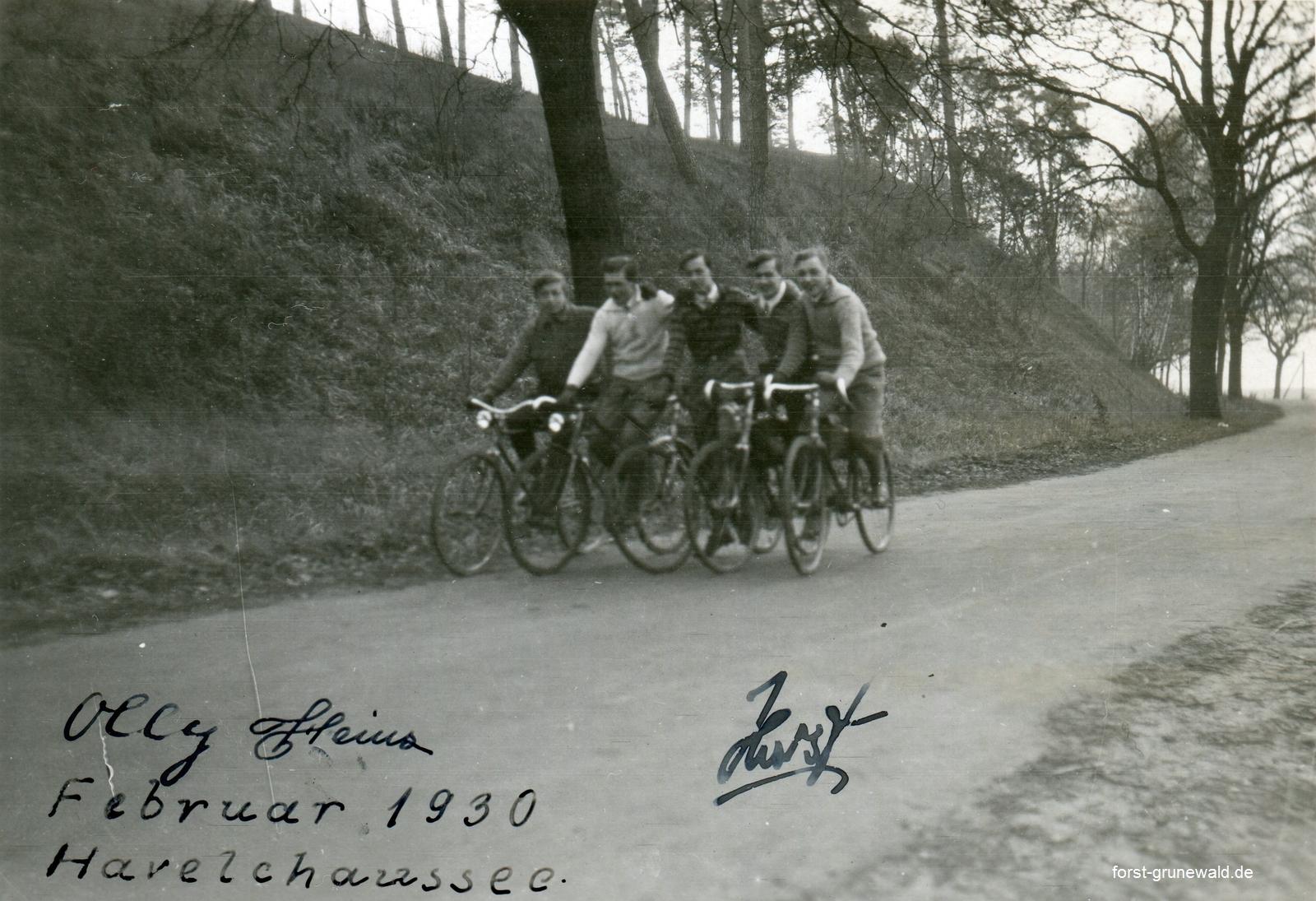 1930-02-00 Havelchaussee Olly Heinz Horst klein