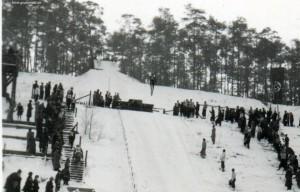 1933 ca Skisprungschanze Teufelsfenn a2 klein