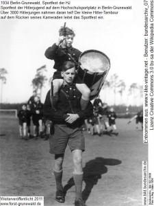 1934 Hilterjugend Hochschulsportplatz Grunewald