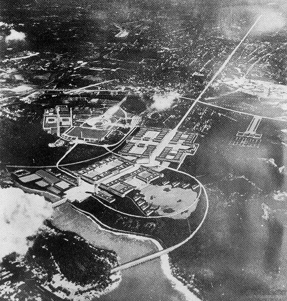 Ruhr-Universität Bochum: Berlin, Hochschulstadt an der Ost-West-Achse. Vorentwurf der Generalbauinspektion für den Wettbewerb (1937)