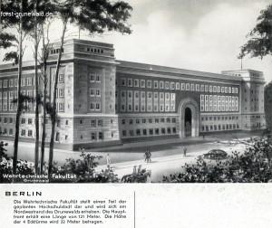 1939 ca. Wehrtechnische Fakultaet klein