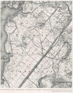 1941-08 Waldpark Grunewald - Die Baukunst - 04 - Bestandsplan 1941 klein