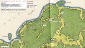 1941-08 Waldpark Grunewald - Die Baukunst - 05 Flaechenplanung Dachsberg klein mit Erlauterungen