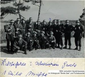 1954 Schwarze Garde - Gerber - 2 klein