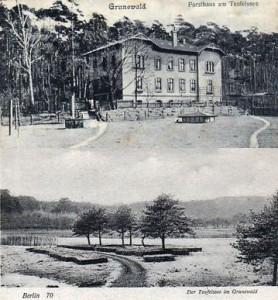 19xx Forsthaus Torftrocknung